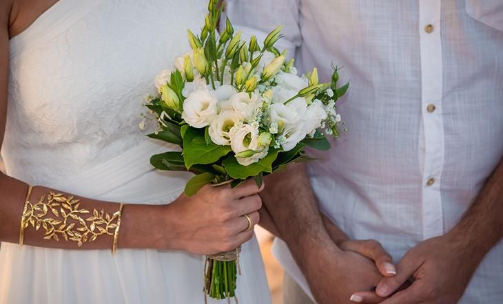 Wedding Alexandra and Teddy in Crete