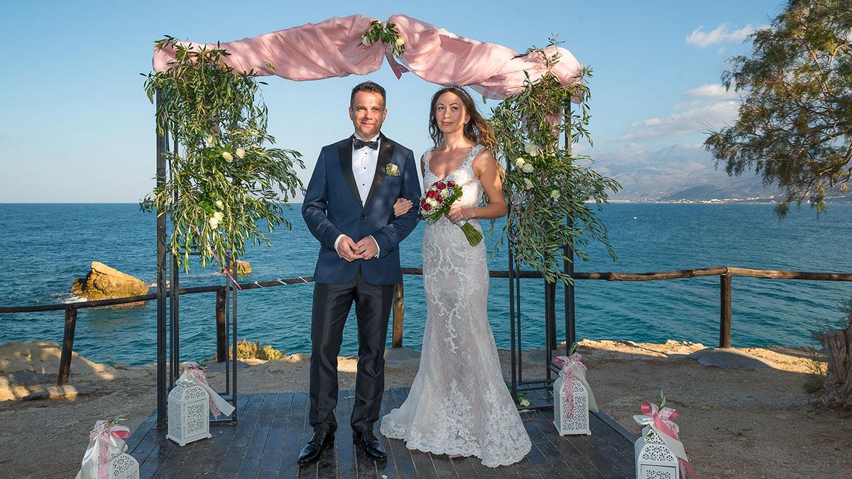 Symbolic wedding on crete island symbolic wedding ceremony of ksenia and evgenii buycottarizona