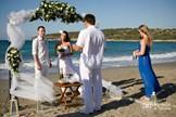 Crete, Symbolic  ceremony, Beach St. Panteleimon