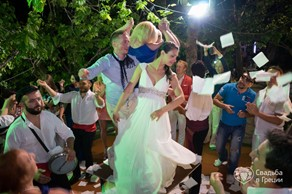 Symbolic  ceremony, My big Greek wedding on Crete