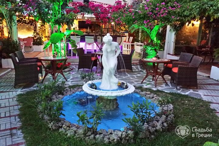 Сад Kalithea , Родос