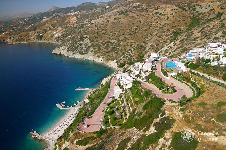 Пляж Theseus