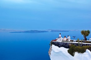 Santorini, Symbolic  ceremony, Andronis Luxury Suites