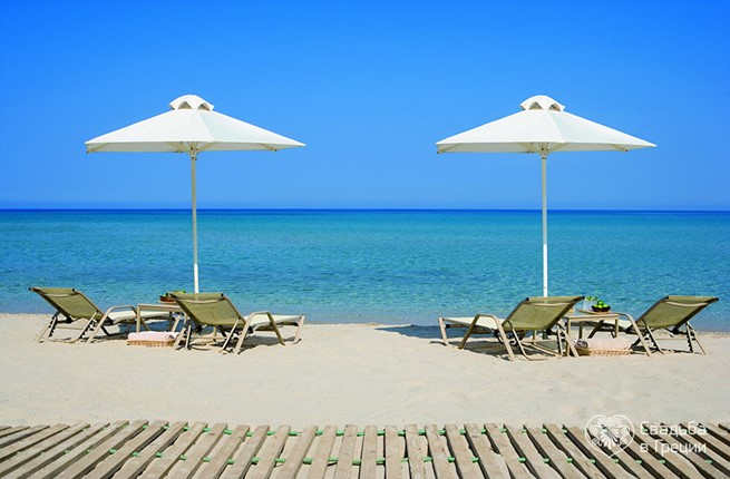 Sani Resort Beach