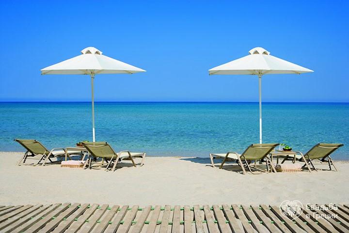 Sani Resort Beach