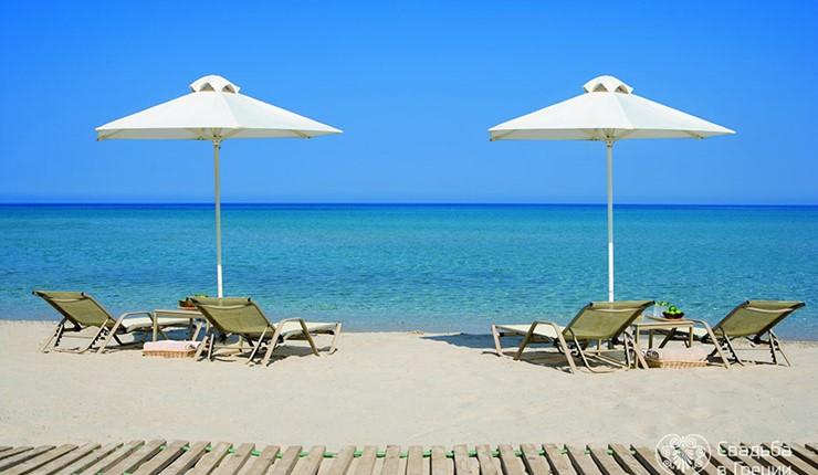 Пляж Sani Resort