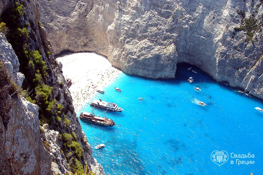 Ceremony Place Navagio Beach