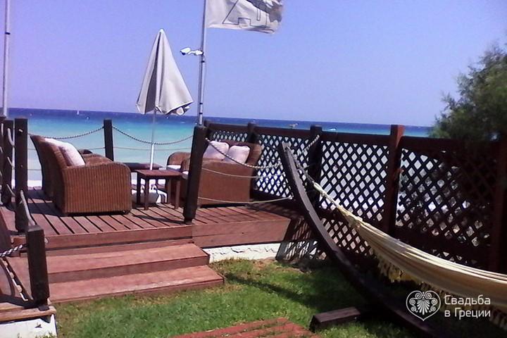 Пляж Ixia, Родос