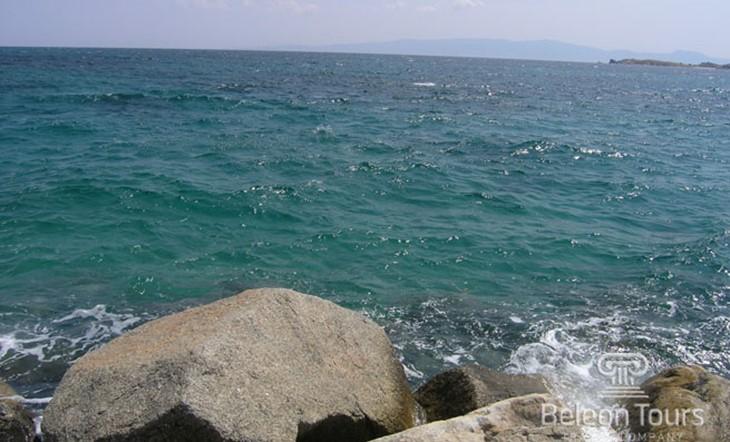 Пляж Ouranoupoli