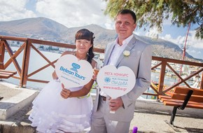 Tatiana's and Anton's wedding ceremony in Hersonissos