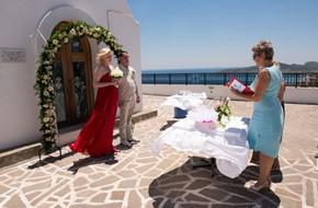 Символическая церемония Валентины и Максима