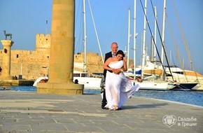 Официальное бракосочетание Эльнары и Викторa