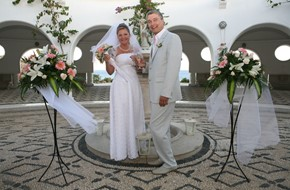 Polina's and Victor's civil wedding ceremony