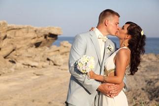 Anastasia's and Nikolay's wedding ceremony