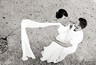 Full of joy symbolic wedding ceremony of Ekaterina and Vasiliy