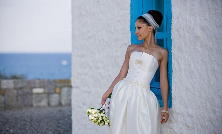 Официальное бракосочетание на острове Кос в Греции