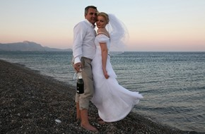 Vika's and Michail's civil wedding ceremony