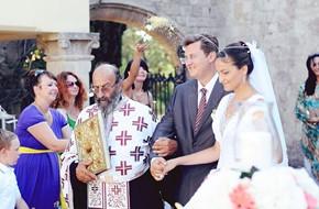 Венчание в церкви Анастасии и Олега