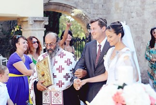 Anastasia's and Oleg's orthodox wedding