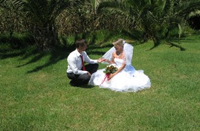 Victoria's and Andrey's  classical wedding ceremony
