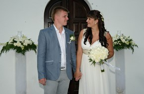 Anna's and Artur's wedding ceremony