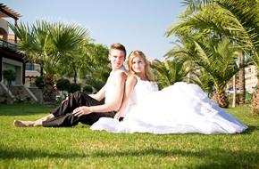 Официальное бракосочетание Елены и Сергея на Родосе