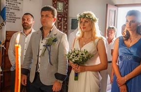 Венчание в церкви Софии и Александра