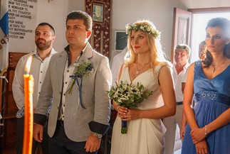 Orthodox wedding of Sofia and Alexandros