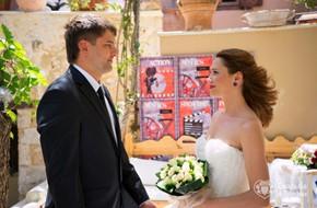 Символическая гламурная церемония Юлии и Алексея