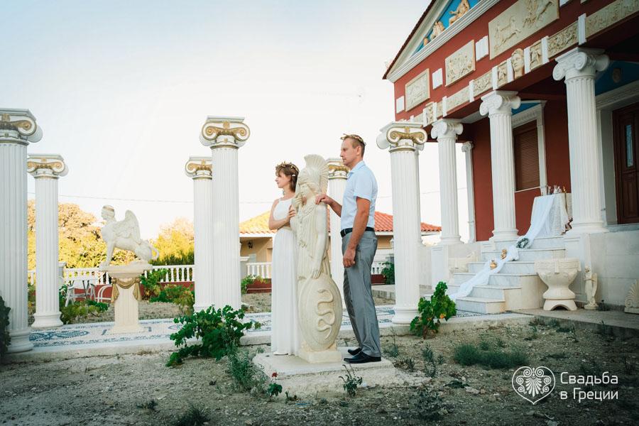 Поздравление в стиле древней греции