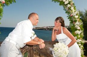 Официальная свадебная церемония Оксаны и Вячеславa