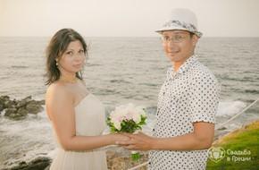 Церемония обмена клятвами любви Анны и Руслана