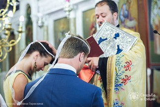 Orthodox wedding ceremony of Victoria and Oleg