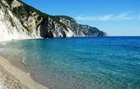 Корфу, Символическая церемония, Пляж Paradise