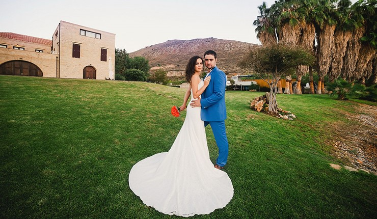 Свадьба на вилле на Крите