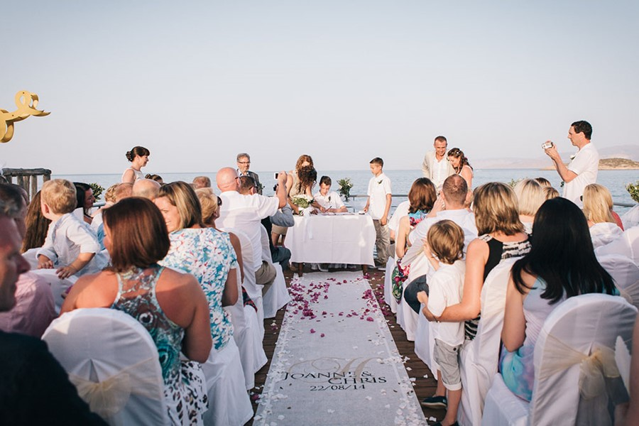 Wedding at St. Nicolas Bay