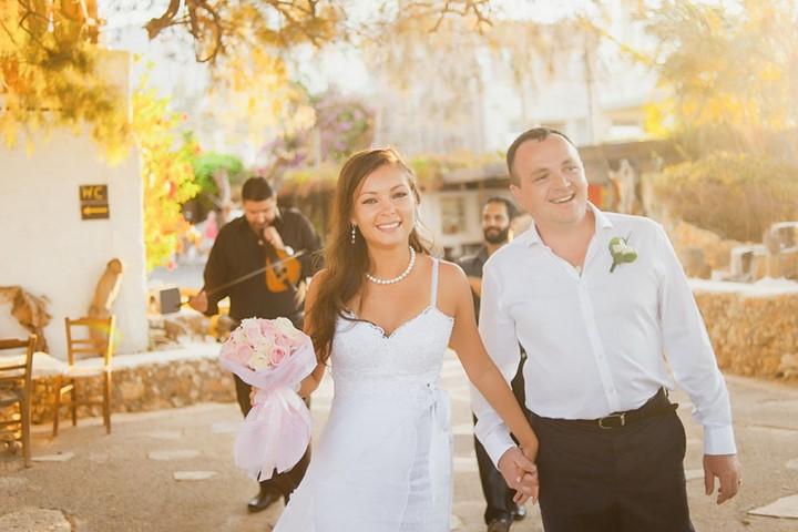 Свадьба на винодельне на Крите, Крит