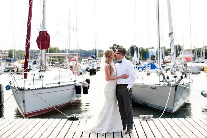 Свадьба на яхте на Закинфе, Закинфос