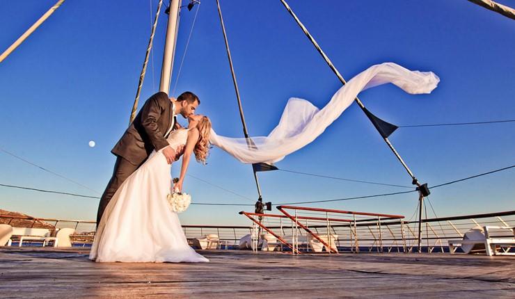 Элегантная свадьба в Лагониси