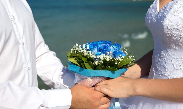 Свадьба у моря на Корфу