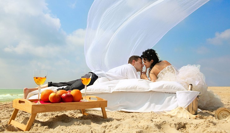 Роскошная свадьба у моря на Корфу