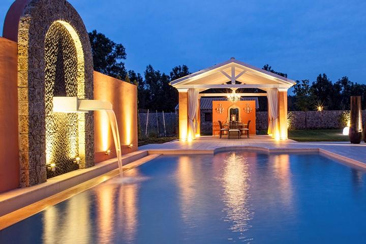 Свадьба на вилле на Корфу, Корфу