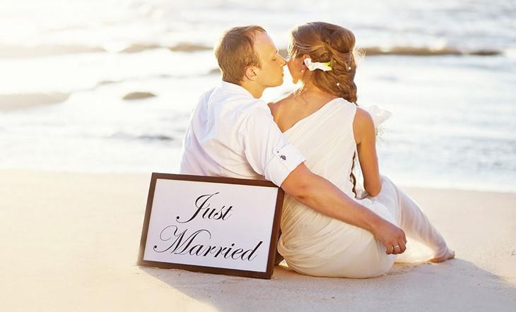 Миконос, Символическая церемония, Романтичная свадьба на берегу моря