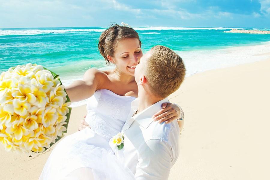 Свадьба у моря на Косе