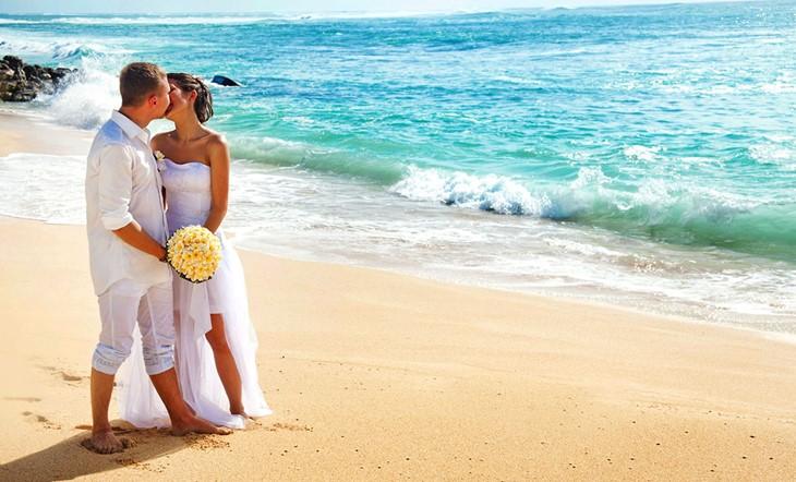 Кос, Символическая церемония, Свадьба у моря на Косе