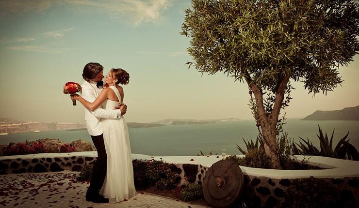 В тени греческой оливы на Санторини