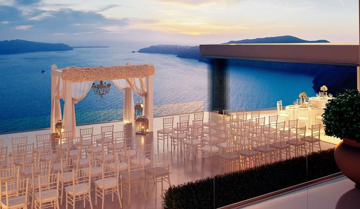 Свадебная церемония на Le ciel