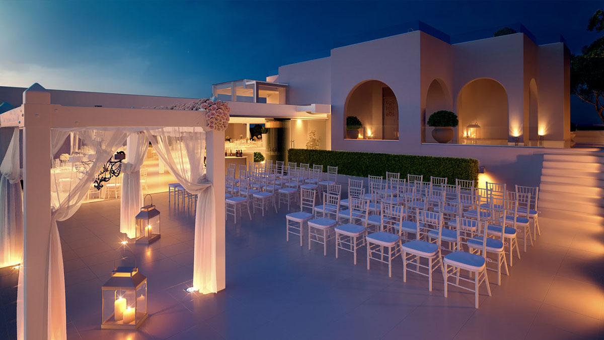 A Wedding Ceremony In Le Ciel