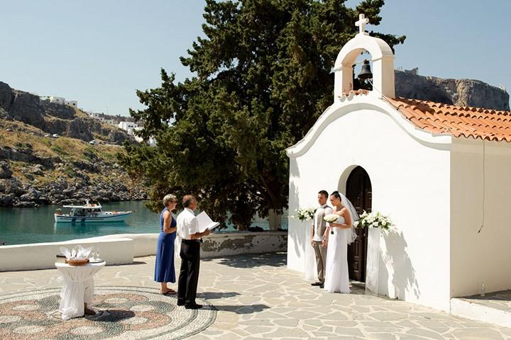 Oфициальное бракосочетание на Родосе, Родос