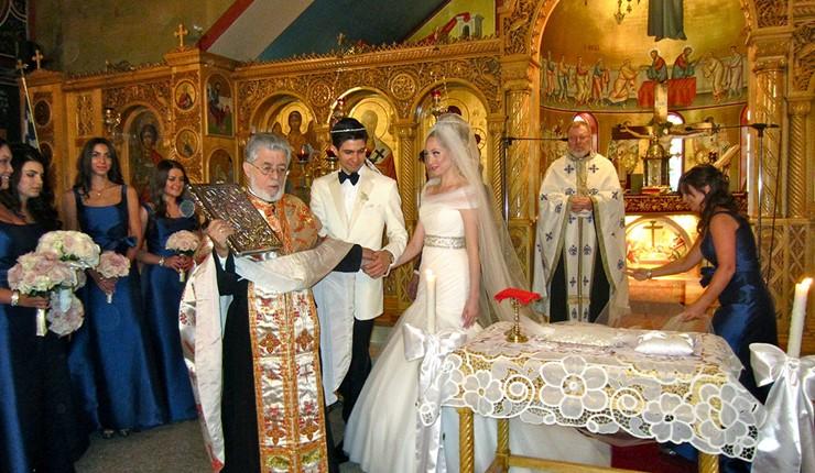 Венчание в русской церкви в Афинах